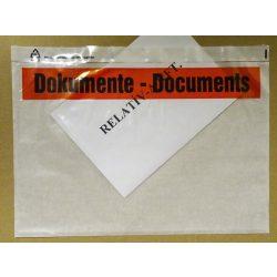 C4 DOKUMENTE nyomtatott okmánytasak (csomagkísérő), 500db/doboz