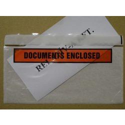 Long - LD DOCUMENTS nyomtatott okmánytasak (csomagkísérő), 1000db/doboz