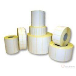 Öntapadó papírcímke 43mm*20mm, 10.000db/tekercs, OUT