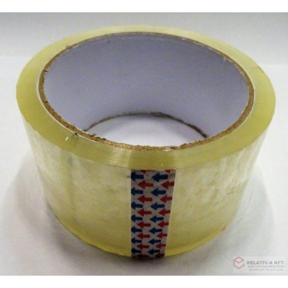 Öntapadó ragasztószalag általános használatra, akryl - 48mm * 53m - Transzparens