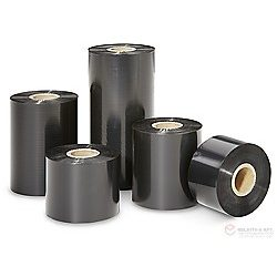 Festékszalag - PR Wax - 110mm * 450m OUT Fekete